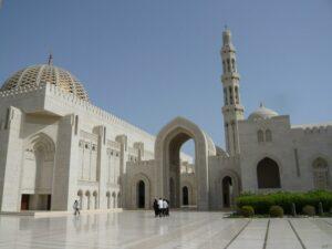Die Große Moschee des Sultan Qaboos in Muscat