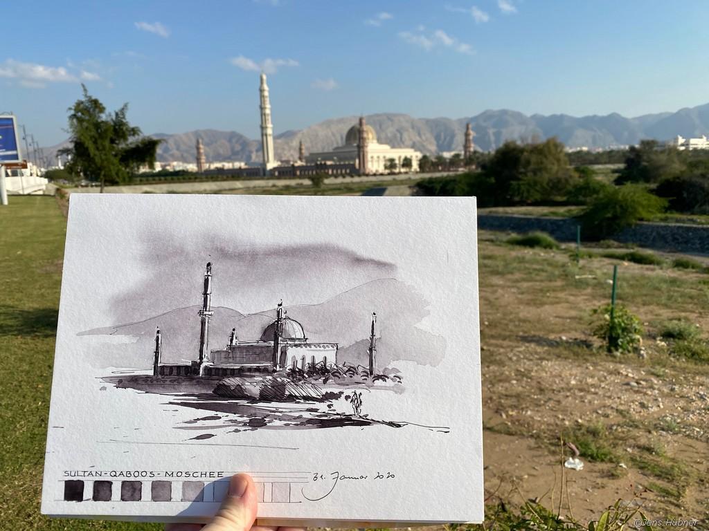 Die Grosse Moschee in Muscat