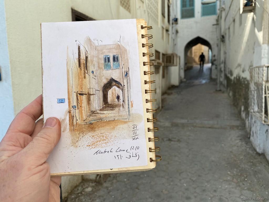 Muttrah Gassen, Oman