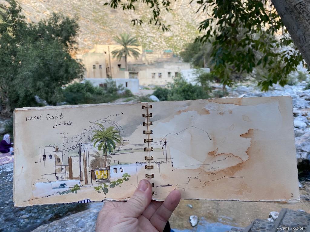 Nakhl Festung Oman