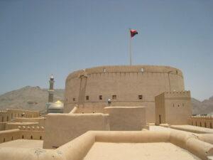 Großer Wehrturm in Nizwa, Oman