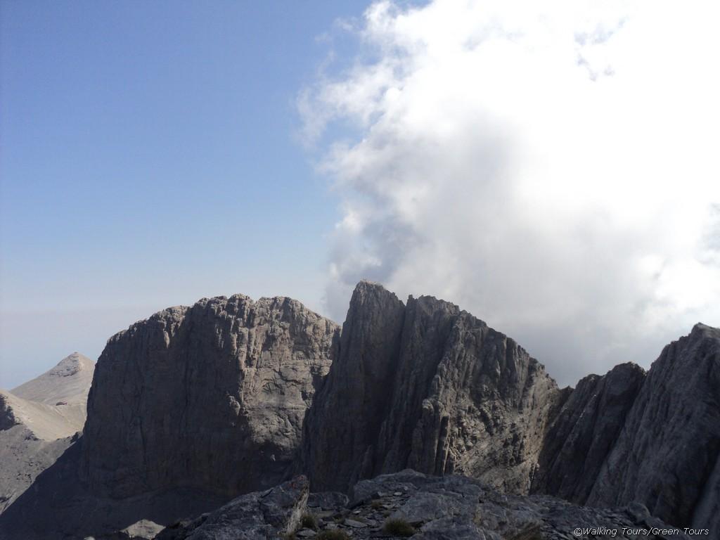 Wanderung zum Berg Olymp