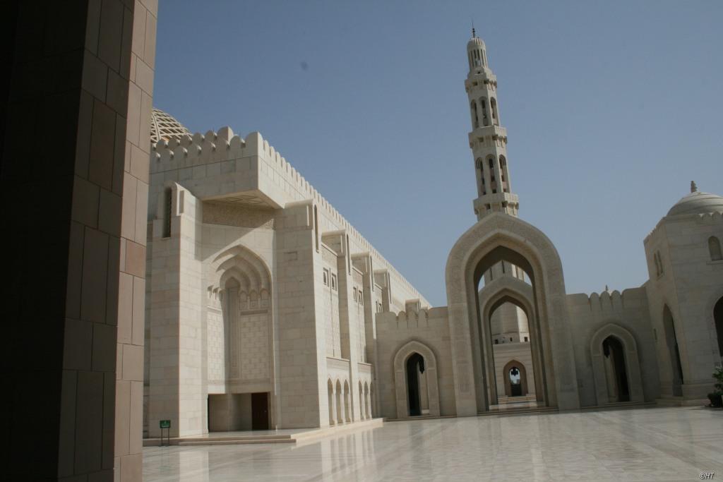 Große Moschee in Muscat, Oman